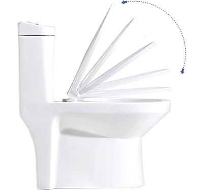 Fido professional toilet cover and seat soft-closing damping system
