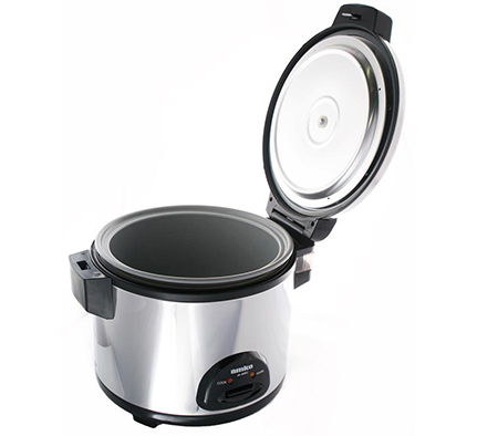 Rotary dampers make the rice cooker outstanding